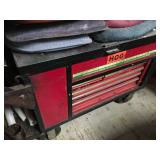 Front of rolling tool box