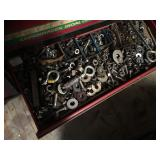 Assorted nuts, bolts, washers