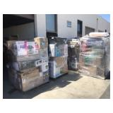 Pallets of unclaimed packages