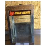 Hot cheese nacho chip warmer, model -04450CS,