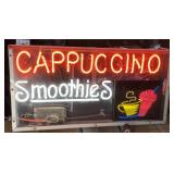 Neon Cappuccino Smoothie