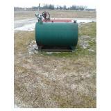 300 gal fuel tank w/ hand pump