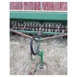 JD 8300 Grain Drill 23 hole Double Disc Hyd. Openers Cyl. and rear Hitch New tires