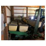JD 7000 6 row Planter w/ Monitor Finger pick up been cups w/ manual