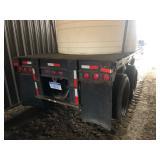 28 ft. Tandem flat bed trailer