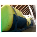 2 - 200 gal Saddle tanks