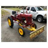 1950 Massy Harris Pony S/N 4747A Front Blade Duel Hyd. PTO Lights Good Rubber ele.start