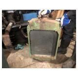 JD B radiator
