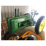John Deer B Tractor Restored