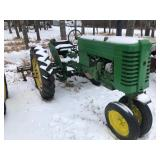 JD- MT with cultivator