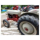 Ford Jubilee with rare Sherman live PTO