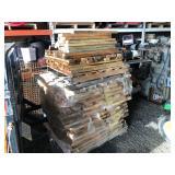 Pallet of 2x4's for pallet racks