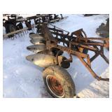 IH model 60 4-16 trailer plow