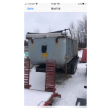 Steel lead trailer  Everything is functional and works