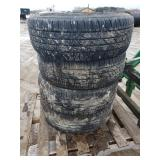 4- 275/65R-18 truck tires