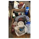 Misc.box lots garage items