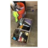Misc. box lots garage item