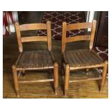 Child wood chairs