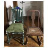 Vintage/antique rocker, vintage chair