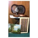 Vintage Wood frames mirror