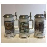 Miller holiday steins (3) stein