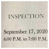 Inspection date