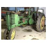 John Deere H *  ser#5041, tractor was in