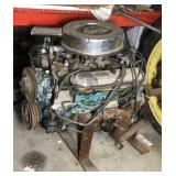 Pontiac  GT 389 V8 motor, with bell  housing,