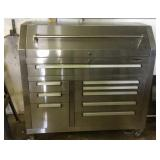 Durotek 9 drawer S.S tool cabinet with work