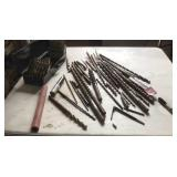 Miscellaneous drill bits * miscellaneous sizes