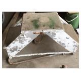 Aluminum boat step