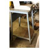 Metal work stand