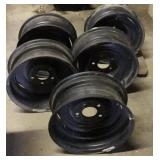 (Qty 5) 15 inch 5 bolt rims