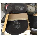New and used grinding disc , misc sizes