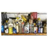 Miscellaneous lubes* cleaners* oil* starting-