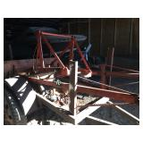 Loader with blade for Allis Chalmers B-C-CA