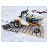 Cub Cadet mower model 1315 with deck