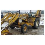 IH 3400 tractor backhoe series A gas