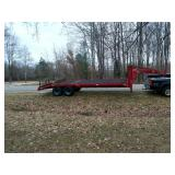 24 Ft. 5th. wheel trailer 20,000 GVW Trailer