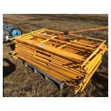 1 pallet safety rails for scaffold