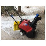 New Never used Toro snowblower