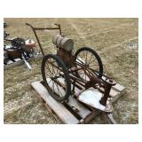 Antique Brush Mower