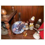 Asst Eagle Figurines
