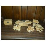Wooden Toy Collectibles