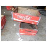Coca Cola Wooden Boxes
