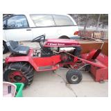 Wheelhorse 312-8 12HP 6-Speed Lawn Tractor w/ Snowblower