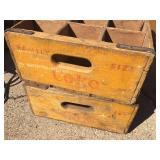 Vintage Coke Wooden Boxes