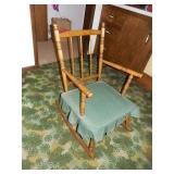 Rocking Chair w/ Padded Seat