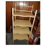 Wood/Bamboo Shelf Unit