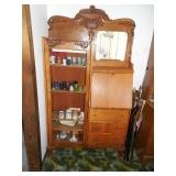 Antique Secretary w/ Curio